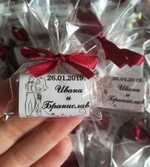 Чоколатца за вашата свадба,веридба..