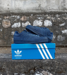 ADIDAS SUPERSTAR SUEDE NIGHT INDIGO