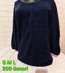 Novi pamucni bluzi dostapni S M i L velicini