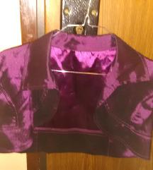 Темно лилаво болеро