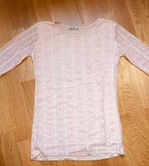Скроз нова свечена блуза