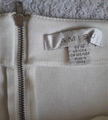 AMISU памучна сукња