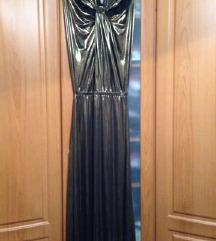 НАМАЛЕНО 800  Bronzen fustan Mango L golemina