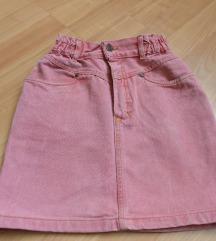 Roze suknjicka 6-8 god
