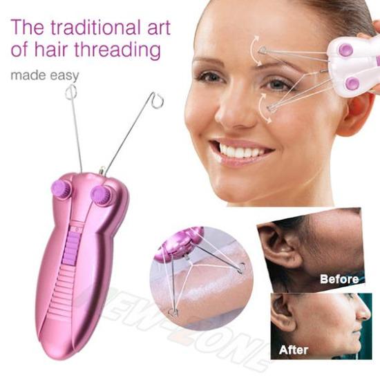 Епилатор за отстранување влакна на лице