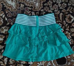 сукња зелена