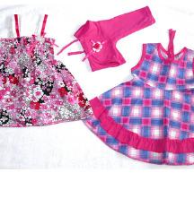 2 фустанчиња со болеро za 1 год