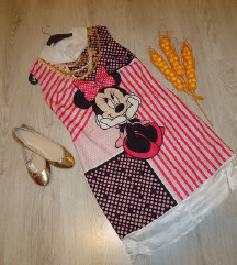 Fustan Minnie Mouse