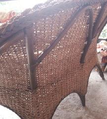 Dvosed i stolica drveni