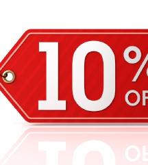-10 % na site raboti od 25 ti do 31 juli