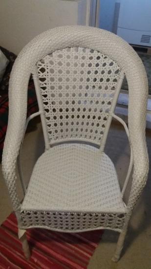 Garnitura ratan 4 stola i masa