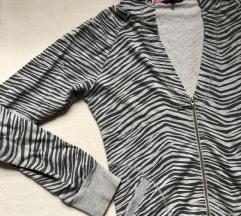 Zebra print dukserce