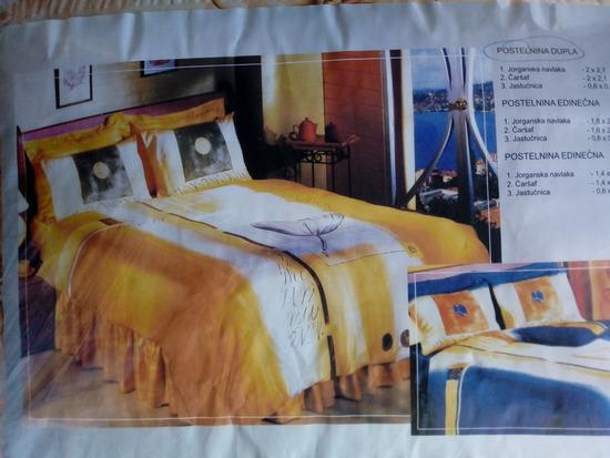 Nova dupla guzvana postelnina