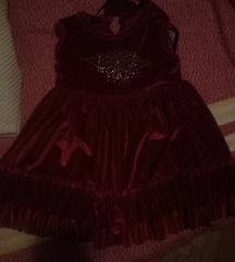 Novo plishano fustance