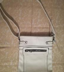 Бела ташничка - еко кожа