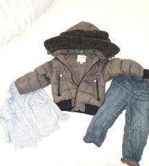 Komplet jakna,pantoloni i kosula za 18 mes