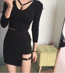 Најмодерна црна сукња 🖤