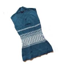 Плетена волнена туника S/M