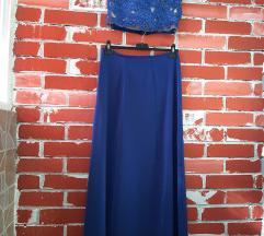 Trodelen Royal Blue fustan