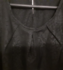 Brend crna bluza kosulka