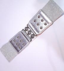 Елегантен сребрен колан