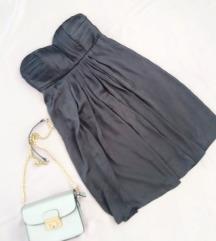 Vila siv fustan