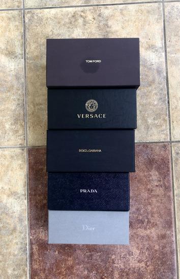 Original Versace Tom Ford D&G Prada Dior