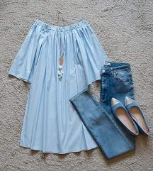 Блуза фустан