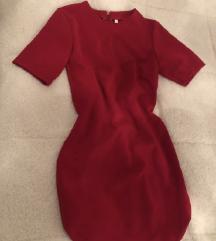 Crveno fustance mini