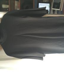 Zara црно фустанче со ролка