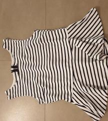 Пеплум блуза