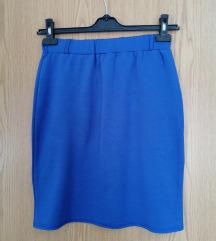 Плава сукња М/L