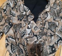 Novo fustance so animal print