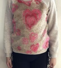 Зимска детска блуза 128-134 см, 8-9 години
