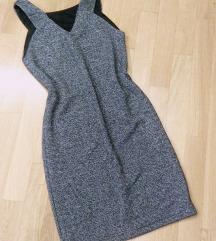 Srebren fustan