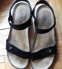 Leon anatomski kozni sandali