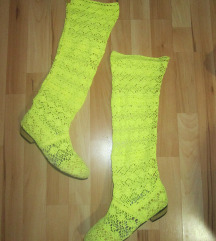 Плетени летни чизми
