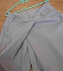 Interesni krem pantaloni