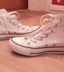 Converse високи бели