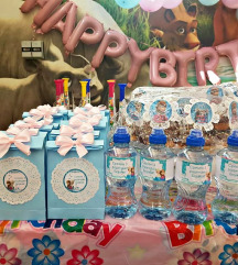 Frozen birthday party🍭💎💝🌸🎁