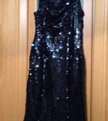 Crn fustan so shljokici, 40 golemina postaven
