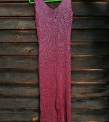 Плетен светкав растеглив фустан
