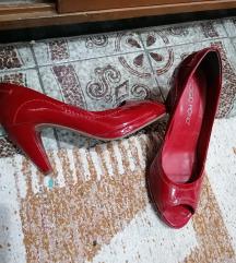 Лак кожа сандали 39 нови