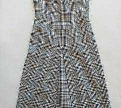 Класично карирано фустанче 38 или с