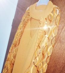Pleten oker fustan