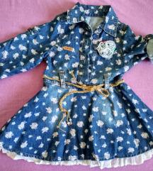 Детско тексас фустанче  величина 98