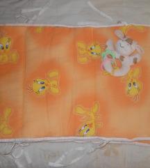 Ogradica za krevetce za bebe nekoristena -250 den