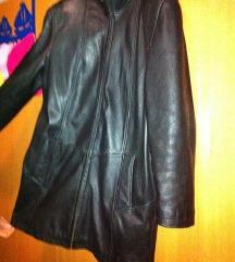 Kozna jakna mantil 38