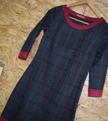 Sivo- bordo fustan S