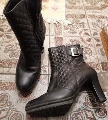 Алпина кожни мини чизми